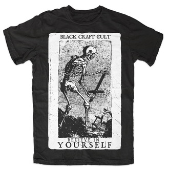 tričko pánské BLACK CRAFT - Believe In Yourself - Black - MT070BT