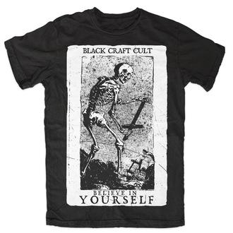 tričko pánské BLACK CRAFT - Believe In Yourself - Black