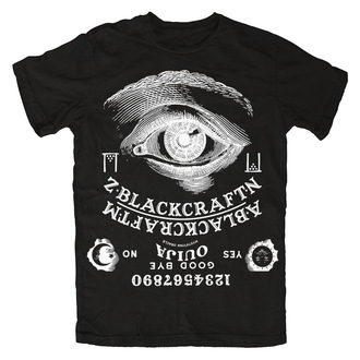tričko pánské BLACK CRAFT - Ouija - Black - MT025OA