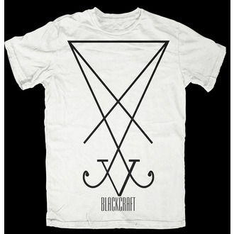 tričko pánské BLACK CRAFT - Sigil of Lucifer - White, BLACK CRAFT