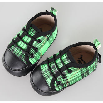boty dětské LITTLE DIAMOND - Black/Green - 59137-011, LITTLE DIAMOND