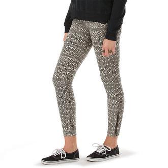 kalhoty dámské VANS - Moto Skinny Denim - Creme - VX7GCUO