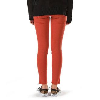 kalhoty dámské VANS - Moto Skinny Denim - Ketchup - VX7G4MO