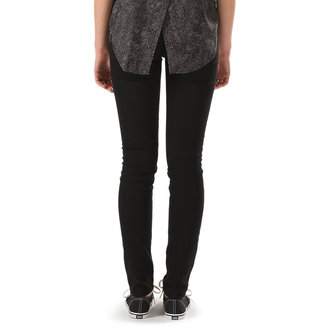 kalhoty dámské VANS - Skinny Denim - Black Rinse - VYBU10D