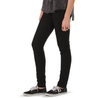 kalhoty dámské VANS - Skinny Denim - Black Rinse, VANS