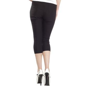 kalhoty 3/4 dámské SOURPUSS - Sugar Pie - Black, SOURPUSS