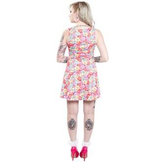 šaty dámské SOURPUSS - Skater Rotten Hearts - Multi Colors, SOURPUSS