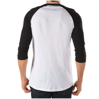tričko pánské -3/4 rukáv- VANS - OTW Raglan - WHITE-BLACK - VXXMYB2