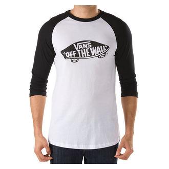 tričko pánské -3/4 rukáv- VANS - OTW Raglan - WHITE-BLACK, VANS