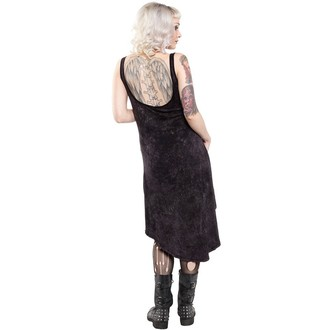 šaty dámské SOURPUSS - Hi Low Omni - Black