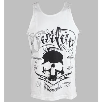 tílko pánské Outlaw Threadz - Tattoo - White, OUTLAW THREADZ