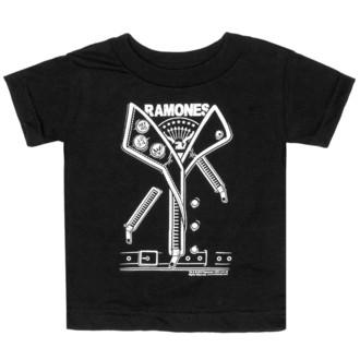 tričko dětské SOURPUSS - Ramones - Punker - Black