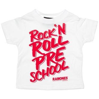 tričko dětské SOURPUSS - Ramones - RNR Pre School - White