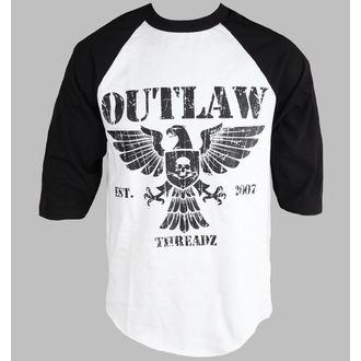 tričko pánské s 3/4 rukávem Outlaw Threadz - Crest - MR01