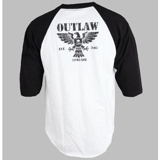 tričko pánské s 3/4 rukávem Outlaw Threadz - Crest, OUTLAW THREADZ