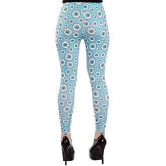 kalhoty (legíny) dámské SOURPUSS - Optical Delusion - Aqua