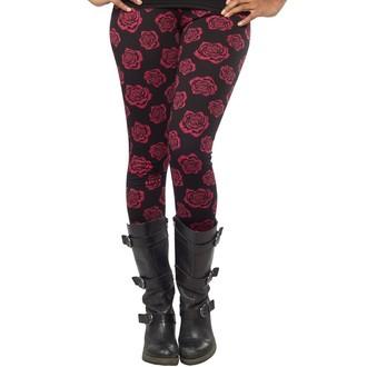 kalhoty (legíny) dámské SOURPUSS - Omni Roses - Black, SOURPUSS