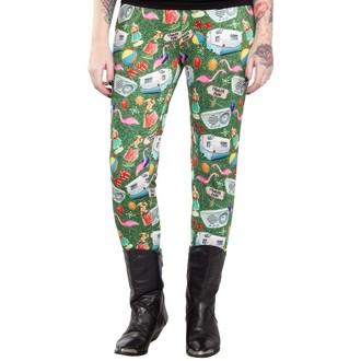 kalhoty (legíny) dámské SOURPUSS - Trailer Park - Multi Colors - SPLE22