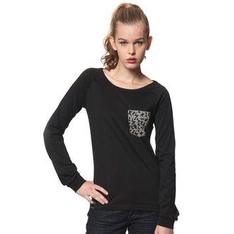 tričko dámské s dlouhým rukávem HORSEFEATHERS - VERENA, HORSEFEATHERS