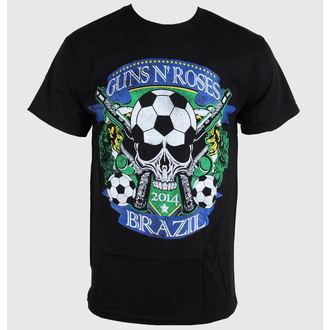 tričko pánské Guns N' Roses - Brazil Cup - Black - BRAVADO, BRAVADO, Guns N' Roses