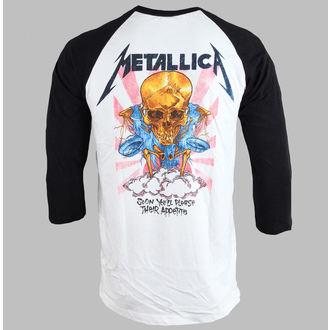 tričko pánské  Metallica - Money Scales - White - BRAVADO, BRAVADO, Metallica