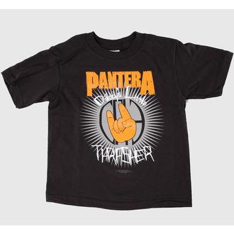 tričko dětské Pantera - Dads Lil Thrasher - Black - BRAVADO, BRAVADO, Pantera