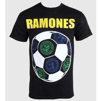 tričko pánské Ramones - Brazil Seals - Blk - BRAVADO - RMN1350