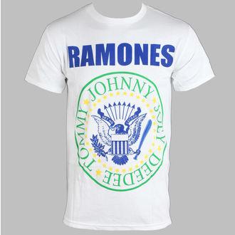 tričko pánské Ramones - Soccer - White - BRAVADO - RMN1349