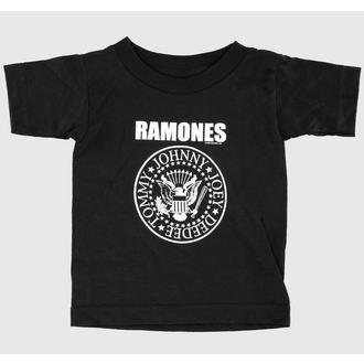 tričko dětské Ramones - Seal - Black - BRAVADO - 95221047