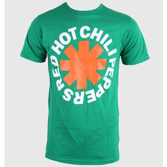 tričko pánské Red Hot Chili Peppers - Asterisk Irish - Green - BRAVADO, BRAVADO, Red Hot Chili Peppers