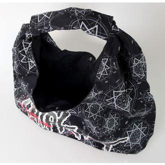 kabelka (taška) Slipknot - Canvas Logo - Black - BRAVADO