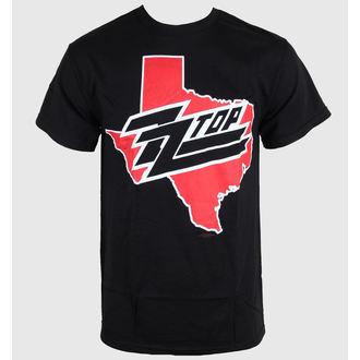 tričko pánské ZZ-Top - Texas - Black - BRAVADO, BRAVADO, ZZ-Top