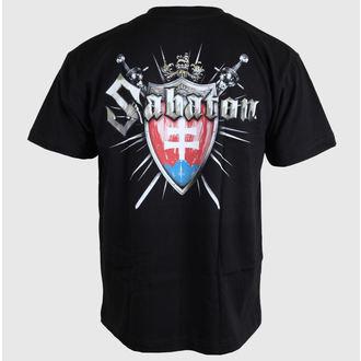 tričko pánské Sabaton - Swedisch - Black - CARTON, CARTON, Sabaton