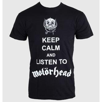 tričko pánské Motörhead - Keep Calm - Black - ROCK OFF - MHEADTEE23MB