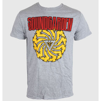 tričko pánské Soundgarden - Badmotor Finger - Grey - ROCK OFF, ROCK OFF, Soundgarden