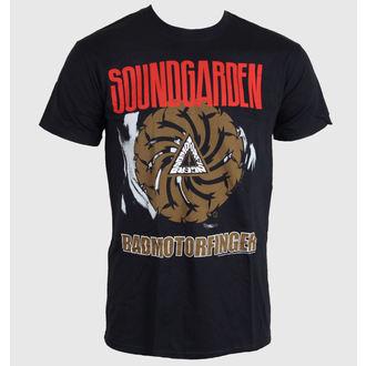 tričko pánské Soundgarden - Badmotor Finger - Black - ROCK OFF, ROCK OFF, Soundgarden