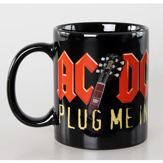 hrnek AC/DC - Plug Me In - Ceramic - ROCK OFF