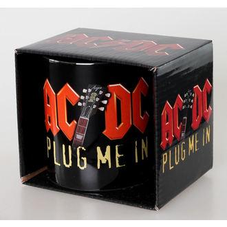 hrnek AC/DC - Plug Me In - Ceramic - ROCK OFF - ACDCMUG04