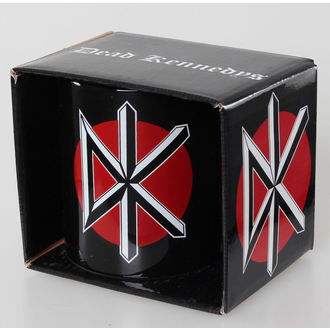 hrnek Dead Kennedys - Logo - Black ROCK OFF - DKMUG01