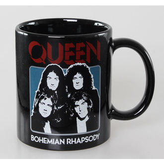 hrnek Queen - Bo Rhap - Black - ROCK OFF, ROCK OFF, Queen
