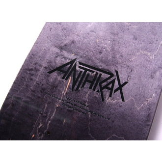 skateboard Anthrax - Logo - HLC