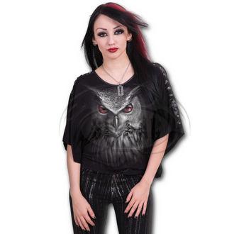 tričko dámské (poncho) SPIRAL - NIGHT HUNTER - BLK - DT210336