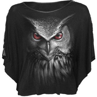 tričko dámské (poncho) SPIRAL - NIGHT HUNTER - BLK