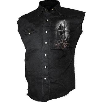 košile pánská bez rukávů SPIRAL - SOUL SEARCHER - D050M602