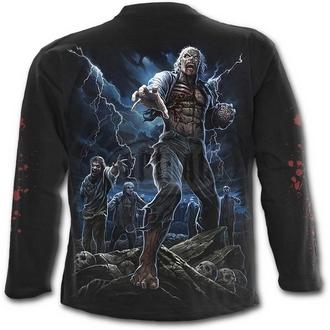 tričko pánské s dlouhým rukávem SPIRAL - NIGHT WALKERS - BLK
