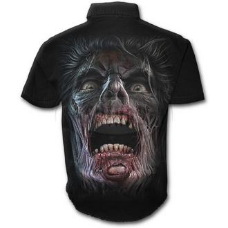 košile pánská SPIRAL - NIGHT WALKERS - BLK, SPIRAL