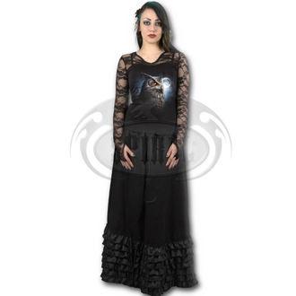 tričko dámské s dlouhým rukávem SPIRAL - NIGHT WISE - BLK