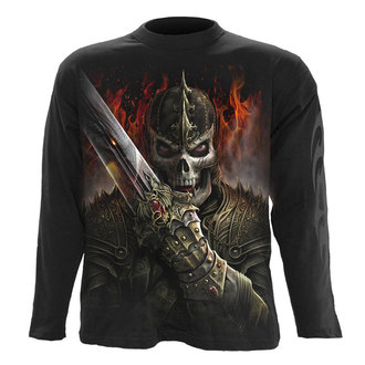 tričko pánské s dlouhým rukávem SPIRAL - DRAGON WARRIOR - BLK, SPIRAL