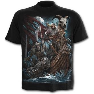 tričko pánské SPIRAL - VIKING DEAD - Black