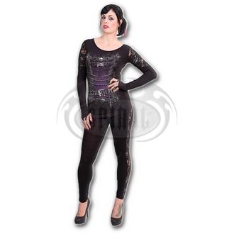 tričko dámské s dlouhým rukávem SPIRAL - WAISTED CORSET - T085F443